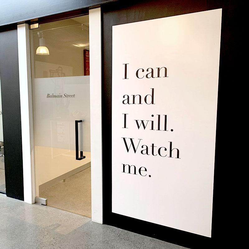 Large Format - Motivation Poster