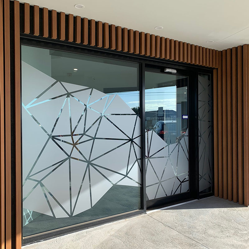 Window Signage - Frost Decals