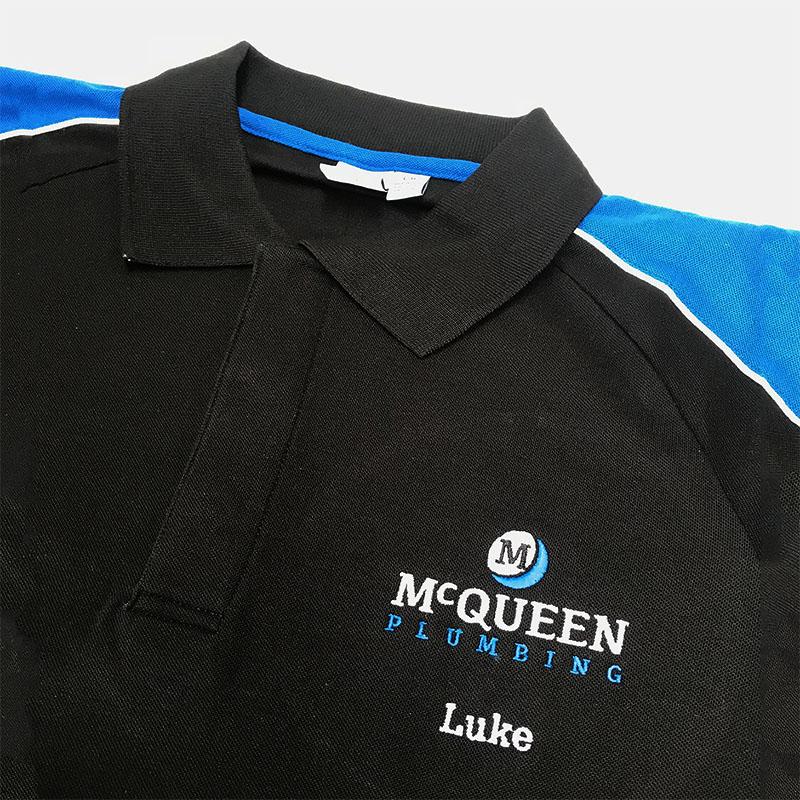 McQueen Group - Polo Shirt Embroidery