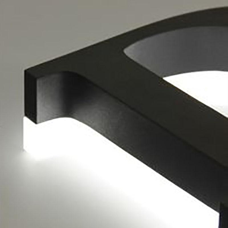 3D LED Metal Letter - Back Lit