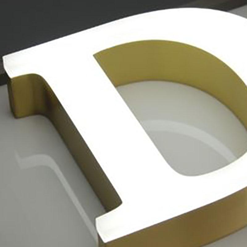 3D LED Metal Channel Letter - Face Lit