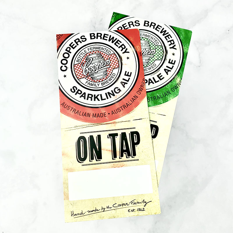Coopers - Marketing Cards