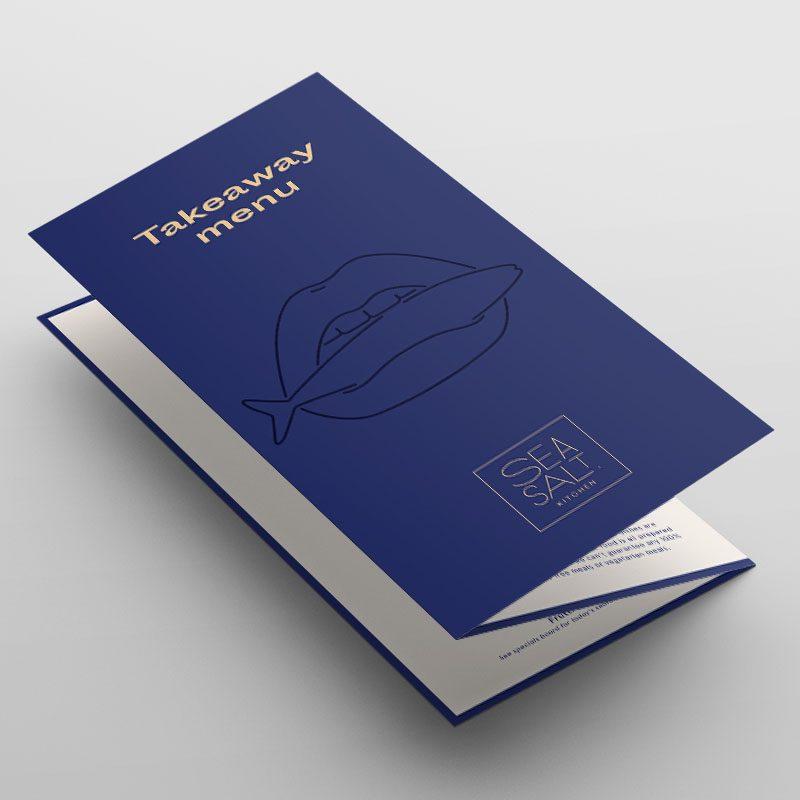 Menus - DL 3-fold Takeaway