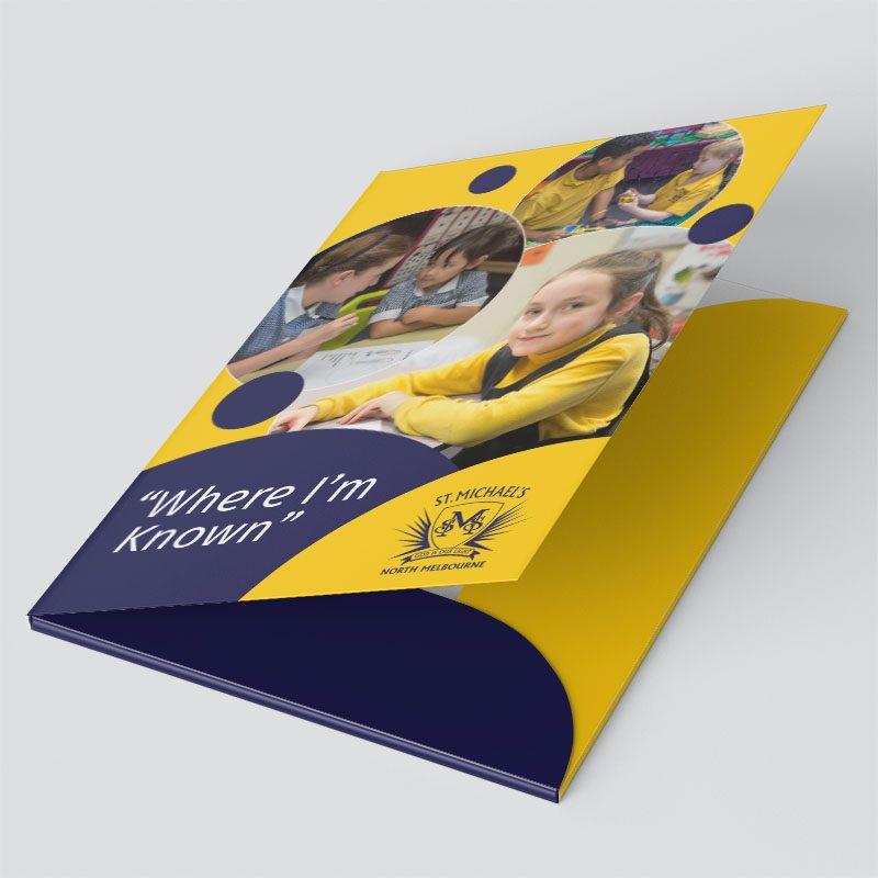 Presentation Folders - St Michael's