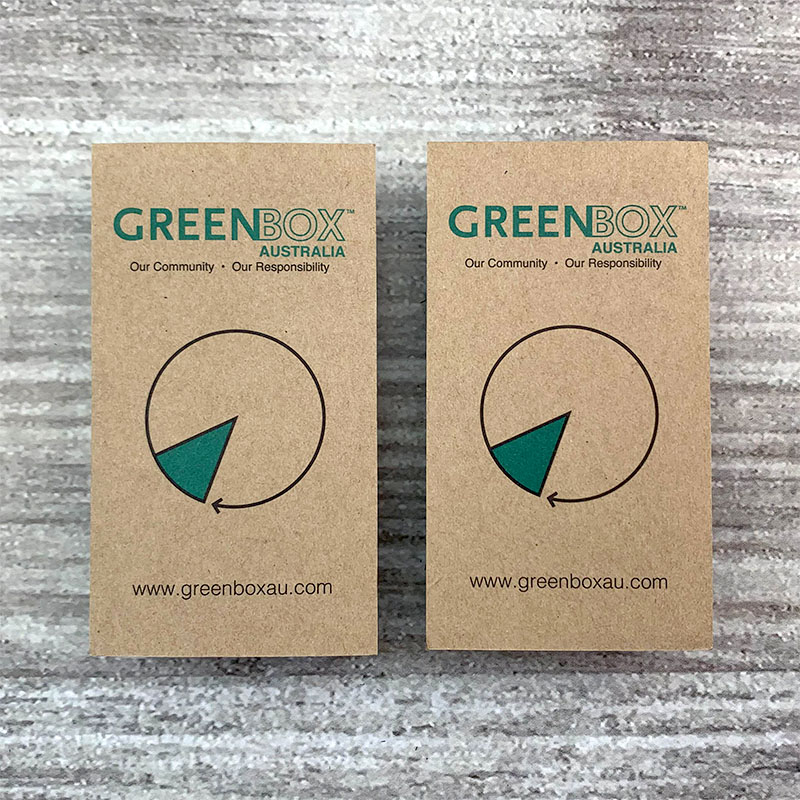 Recycled Cards - Green Box
