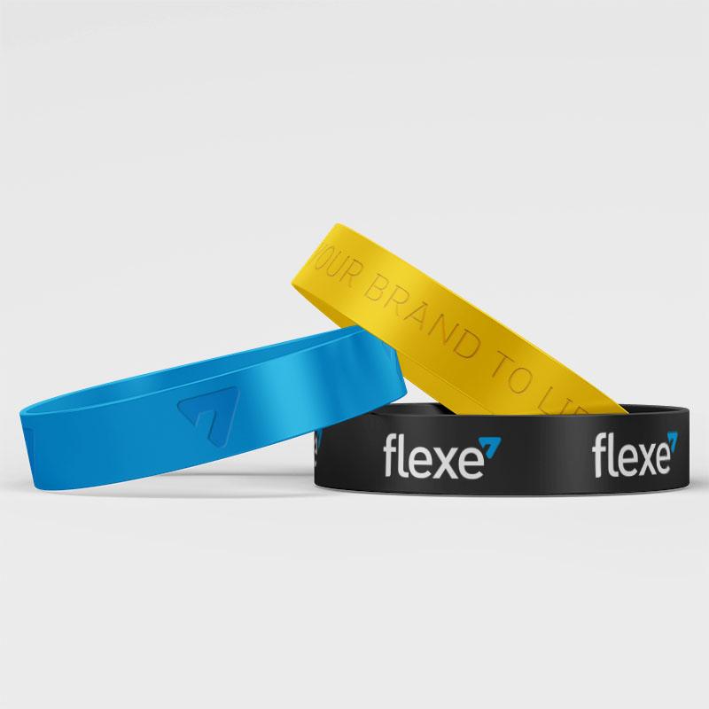 Flexe Silicone Wristbands