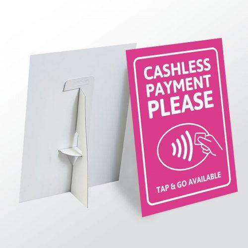 Strut Cards - Tap & Go