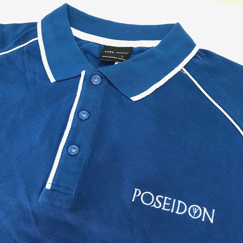 Polo Shirts Embroidery - Poseidon
