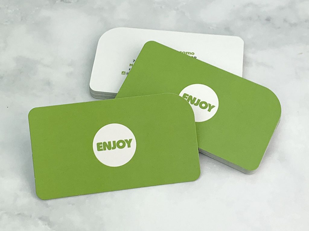 Enjoy Church - Rounded Corner Business Cards