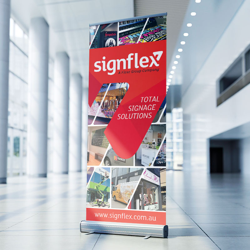 Pull Up Roller Banners - Signflex