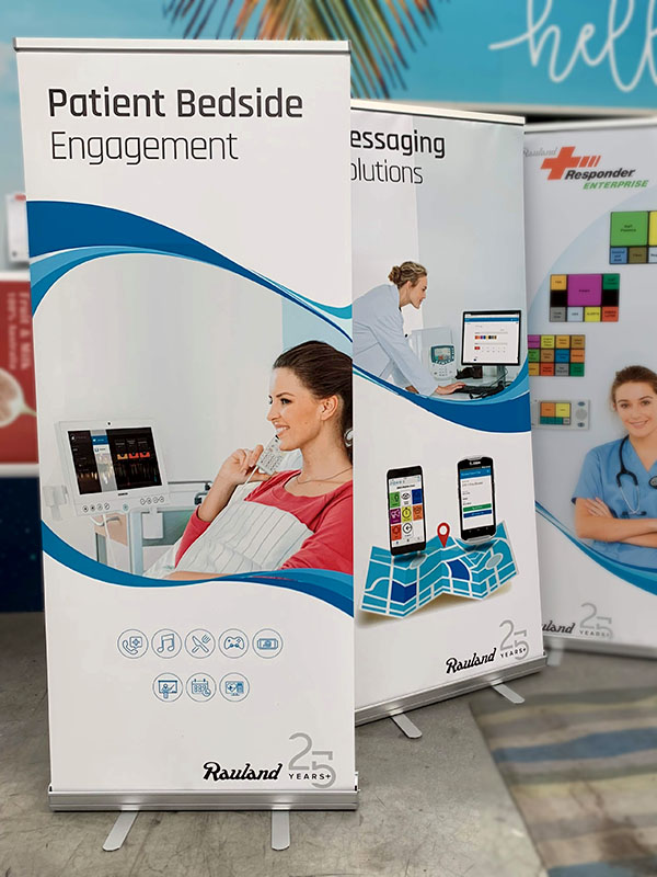 Pull Up Roller Banners - Rauland