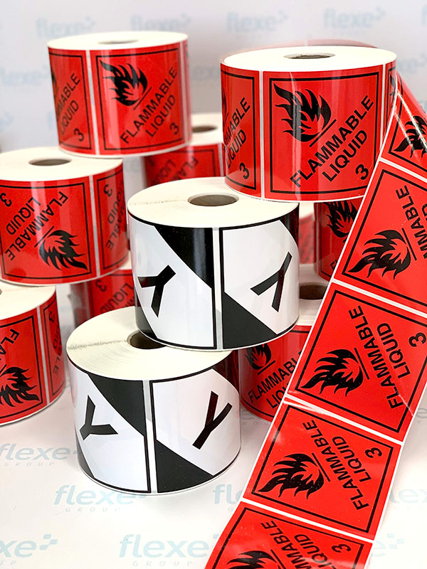 Stickers - Roll Labels