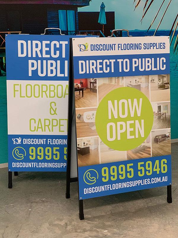A-Frames - Discount Flooring
