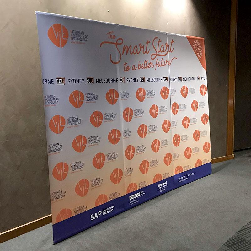 Event Signage - 3pc Backdrop Banner