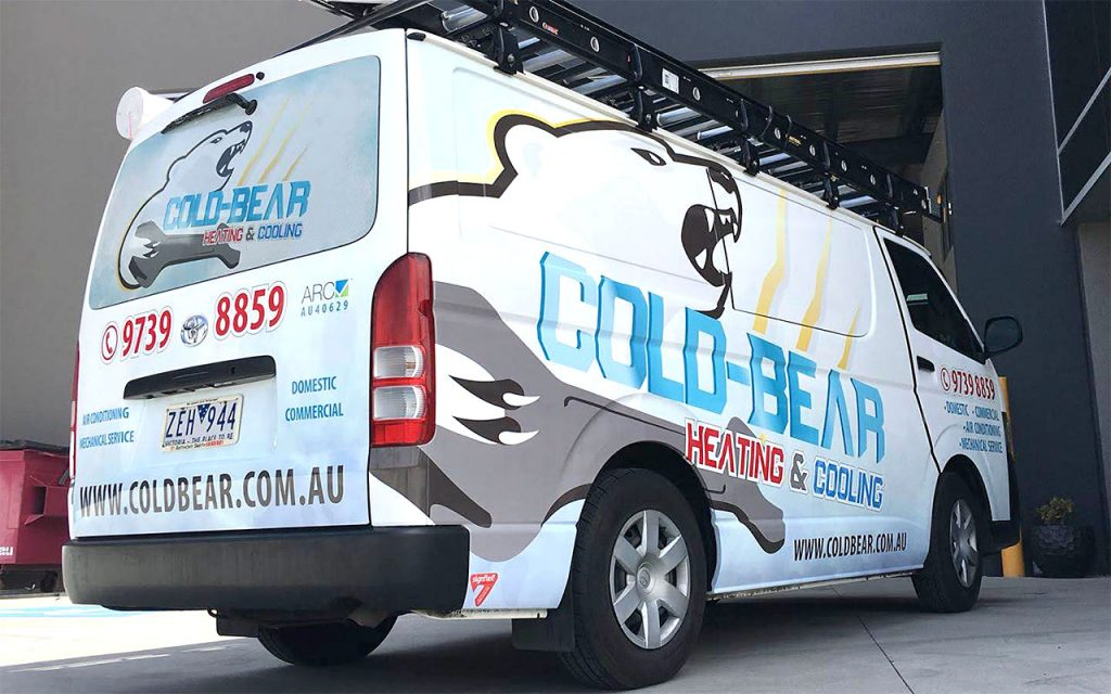 Vehicles - Cold Bear Full Wrap Toyota HiAce