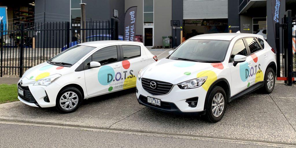Vehicle Signage - D.O.T.S.
