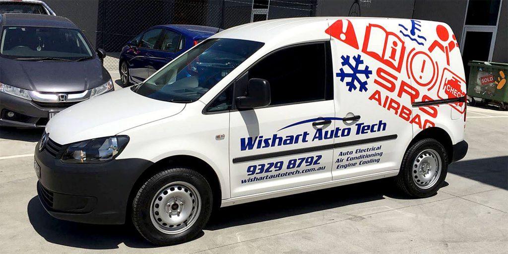Vehicles - Wishart VW Caddy