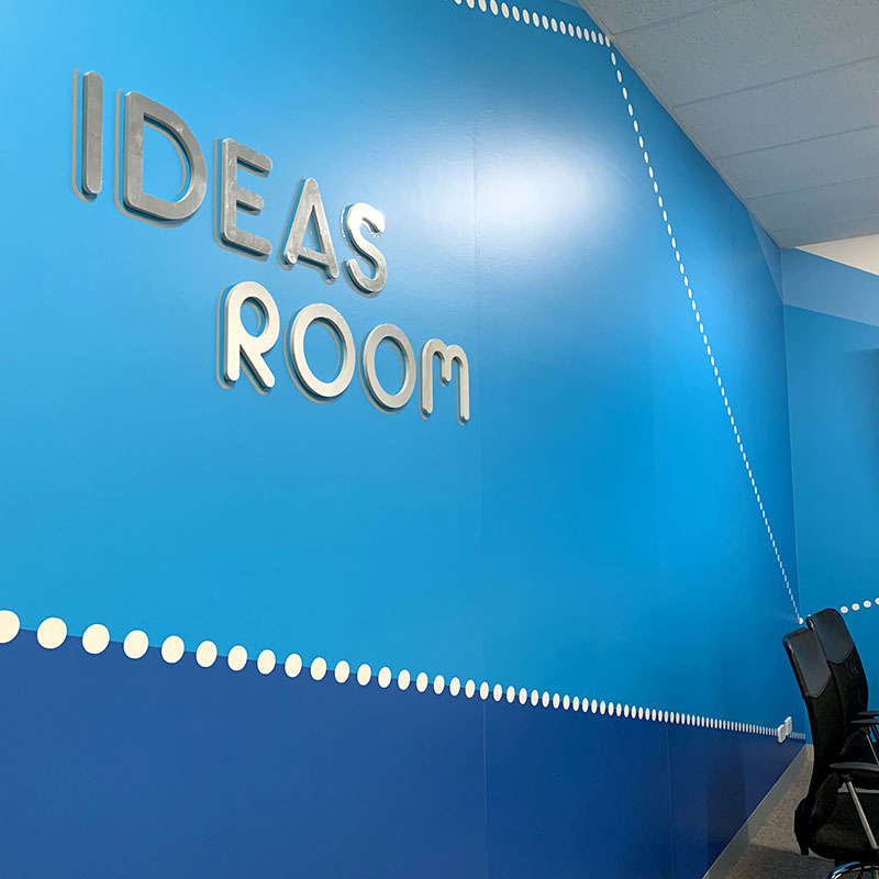 Wall Signage - 3D Acrylic Lettering