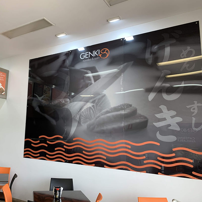 Wall Signage - Printed Clear Panels
