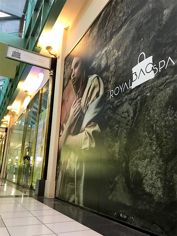 Walls - Royal Bag Spa