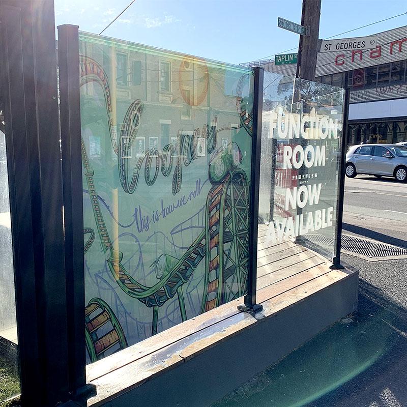 Window Signage - Reverse Digital Print