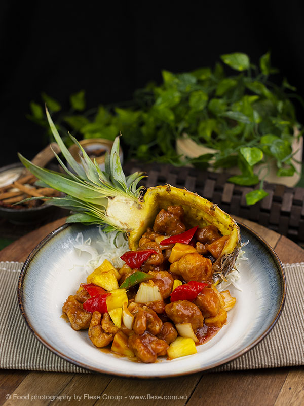 Atas Dining - Food Photography by Flexe Group - Sweet & Sour Pork