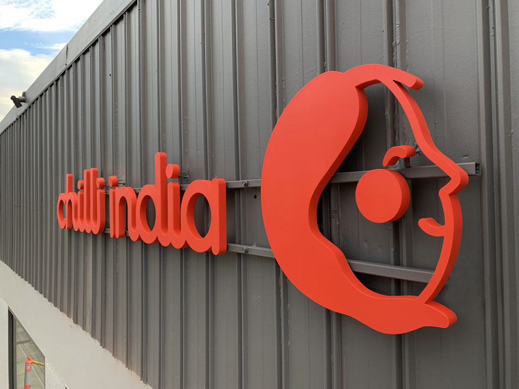 Chilli India - Outdoor 3D LED Signage