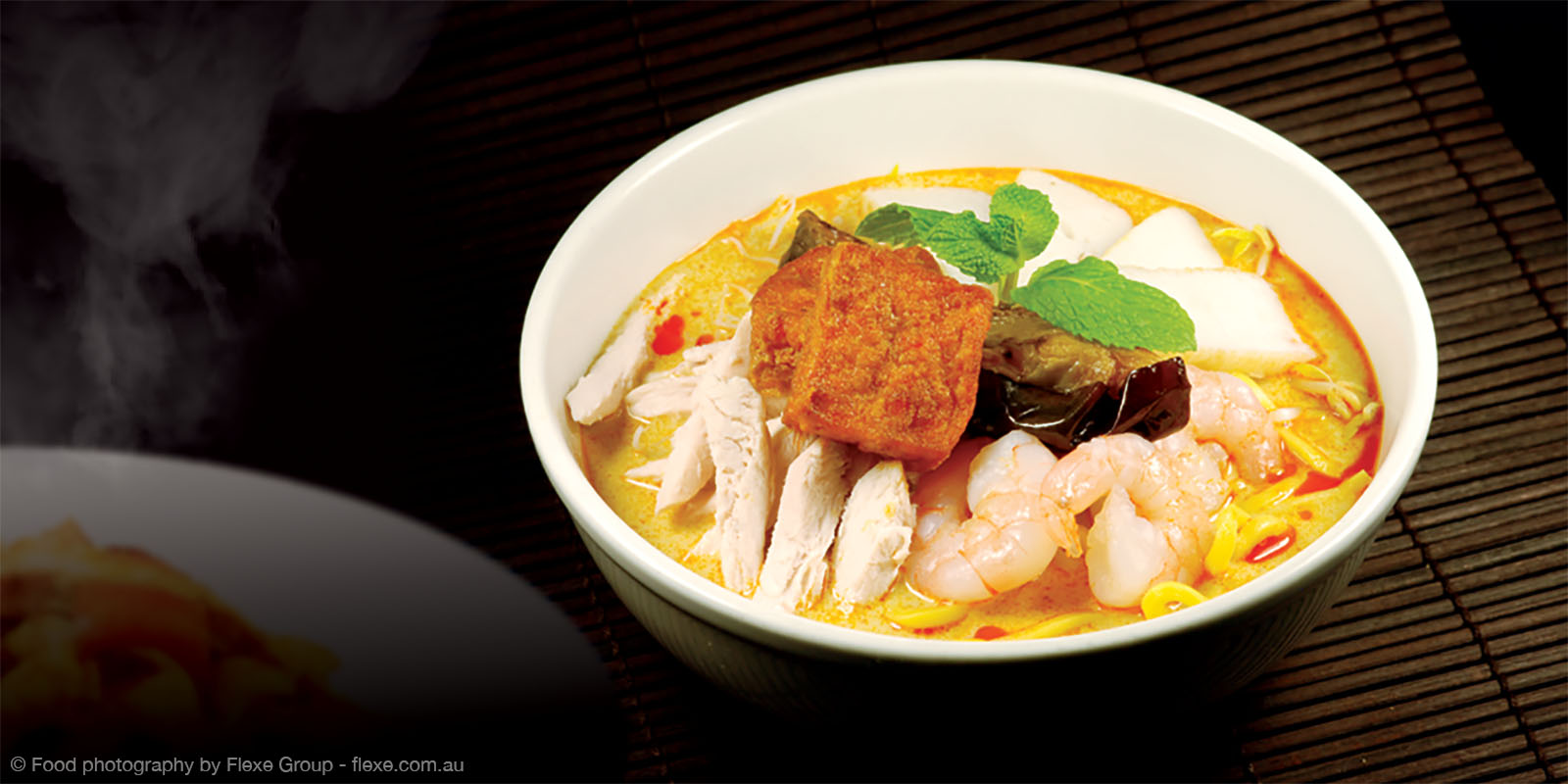 Chef Lagenda - Food Photography by Flexe Group - Laksa