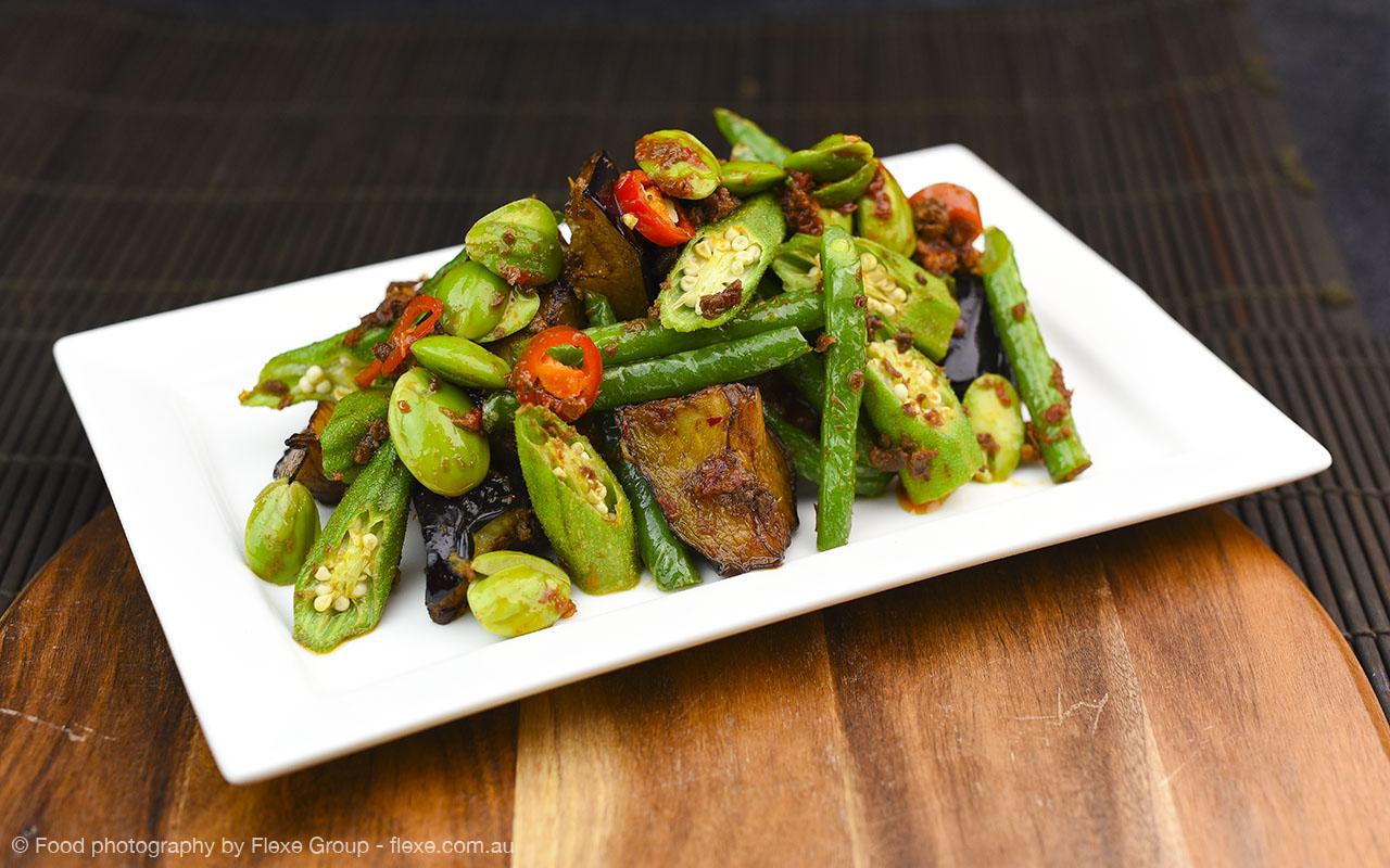 Chef Lagenda - Food Photography by Flexe Group - Sambal Vegetables