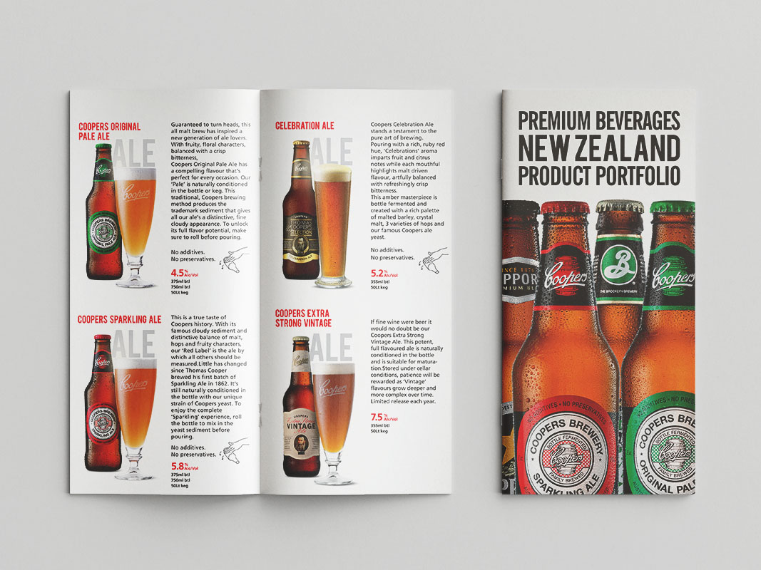 Coopers - DL Booklet