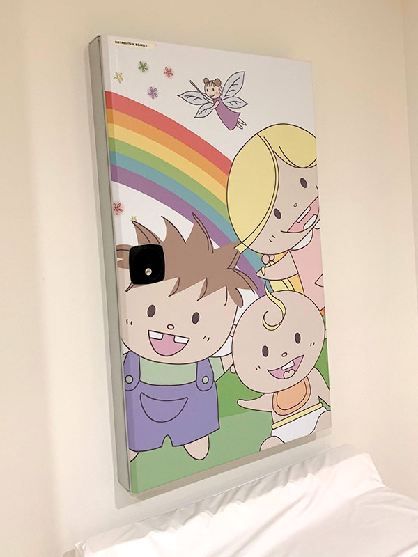 Kiddies Dental Care - Electrical Box Cover Wrap