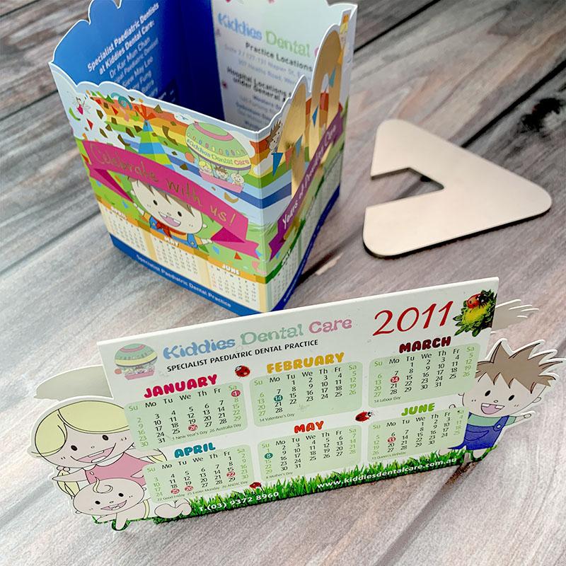Kiddies Dental Care - Calendar Stands