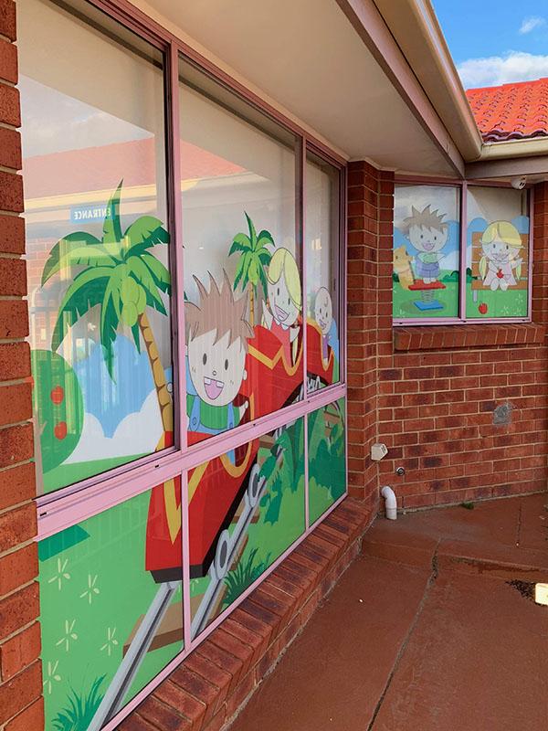 Kiddies Dental Care - Window Print Signage