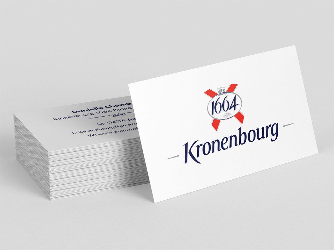 Kronenbourg - Business Cards