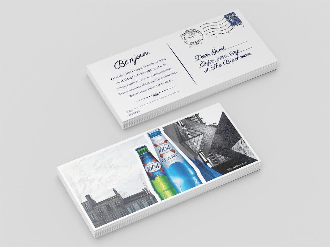 Kronenbourg - DL Postcards