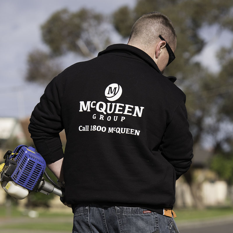 McQueen Group - Jackets Screenprinting