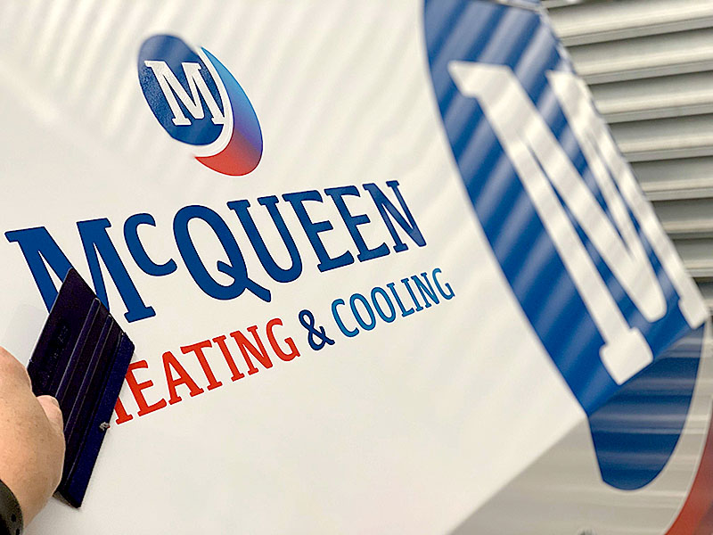 McQueen Group - Vehicle Decal Install