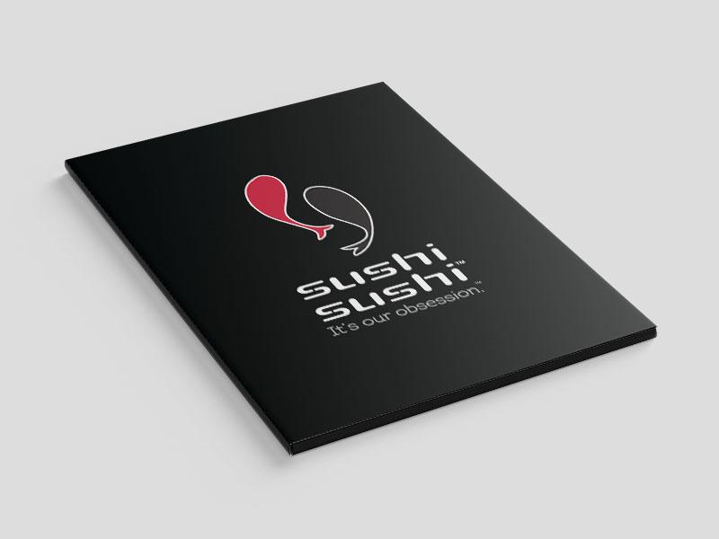 Presentation Folders - Sushi Sushi - Cover