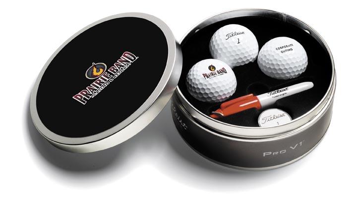 Golf Balls in Case