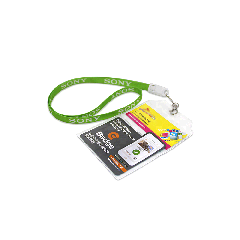 Lanyards with Badge
