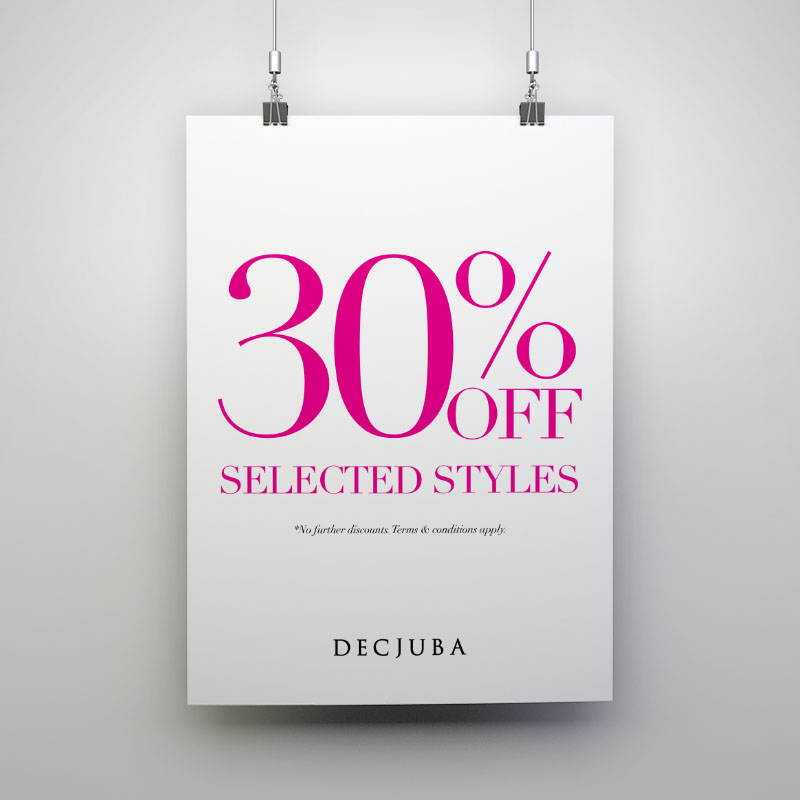 Decjuba - Window Posters (30% Off)