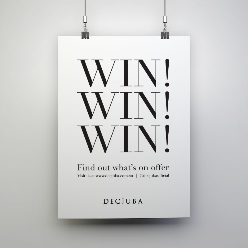 Decjuba - Window Posters (Win)